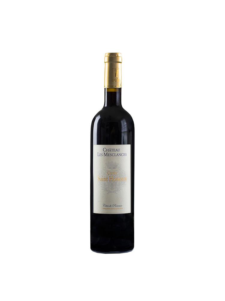 En flaska röd vin saint honorat